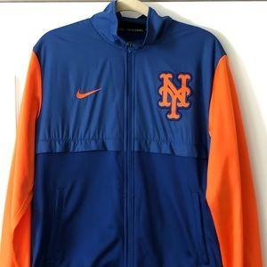 NY Mets bomber jacket.